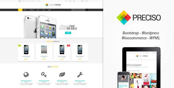 Preciso Shopfront 购物 WooCommerce WP主题 v1.5