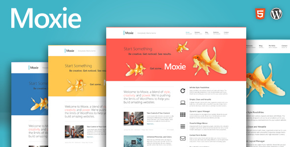 Moxie – 企业版商业 wordpress主题模板 – v1.3.19