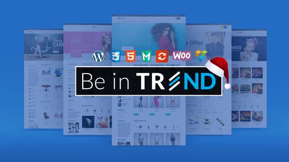 TREND 购物商城模板WordPress 主题