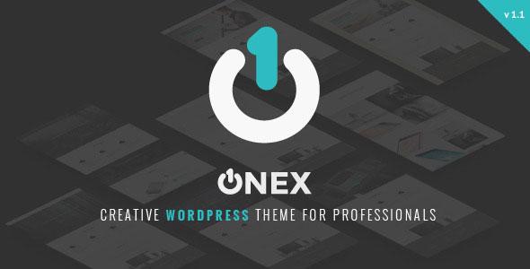 OneX 企业&商务 WordPress主题