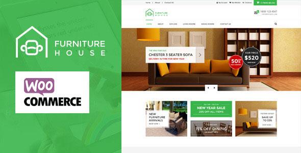 Furniture – 家具饰品在线商店WordPress主题 – v1.5.4