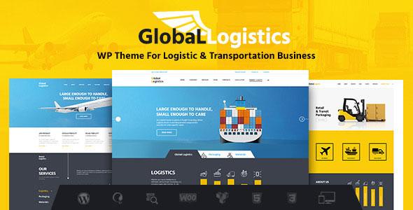 Global Logistics 环球速运物流运输仓储 WordPress主题-WordPress插件推荐