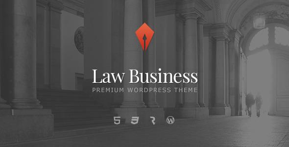 LawBusiness 律师事务所 WordPress主题[v1.1.2]