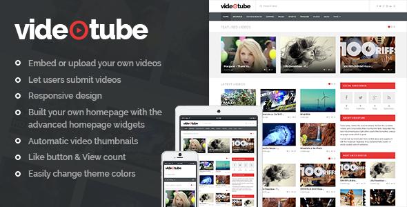 VideoTube 视频门户杂志wordpress主题 – v3.4.2