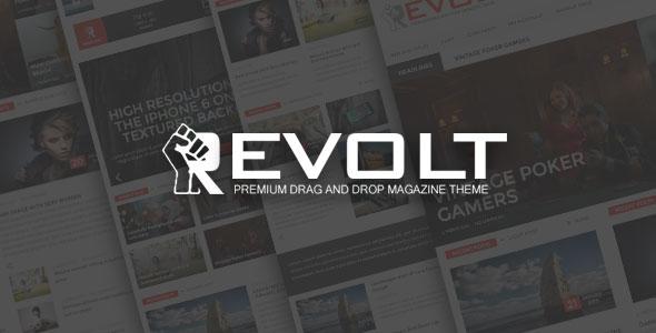 Revolt 多用途杂志 WordPress主题 [更新至v1.1]