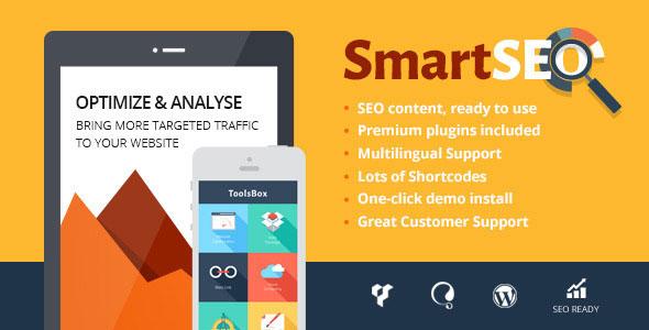 SmartSEO 搜索优化营销 WordPress主题