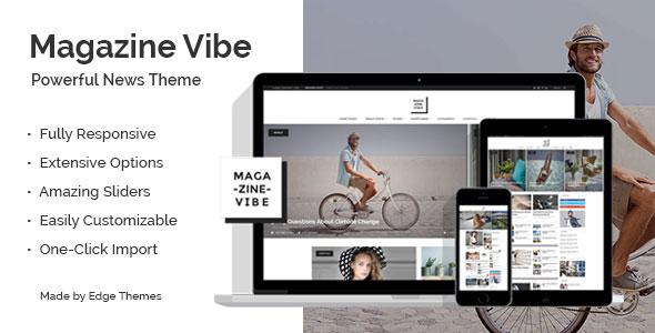 Magazine Vibe 新闻杂志 WordPress主题 – v1.8