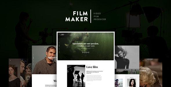FilmMaker v1.2.0.3 – 电影工作室 WordPress主题