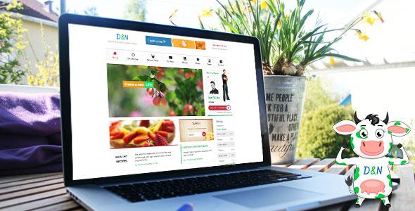 Diet & Nutrition 健康养生WordPress主题 – v3.0