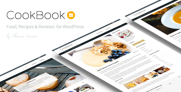CookBook 杂志博客 WordPress主题 v1.15