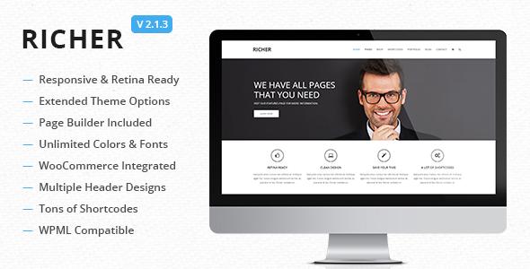Richer 多用途 WordPress主题 v2.6.2