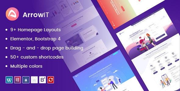 ArrowIT – 数字信息技术网站模板WordPress主题 – v1.2.4