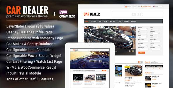 Car Dealer 汽车经销商 WordPress 主题 – v1.4.6