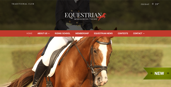 Equestrian 马会马术WordPress主题 v4.3