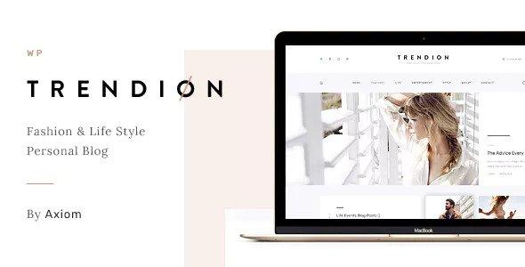 Trendion – 创意专业博客WordPress主题 – v1.1.7