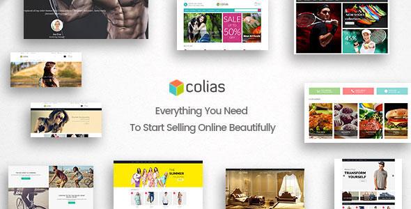 Ri Colias 购物商城WooCommerce WordPress主题 – v1.0.7