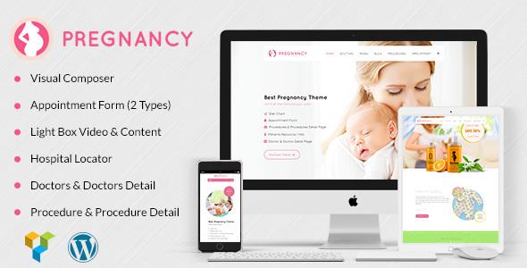 Pregnancy – 医疗保健妇科医生WordPress主题 – v1.4-WordPress主题推荐