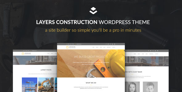 Max Construction 建筑 WordPress Layers主题