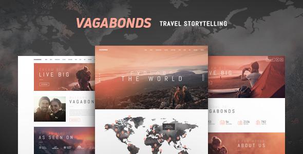 Vagabonds – 旅游生活方式博客主题 – v1.1.3