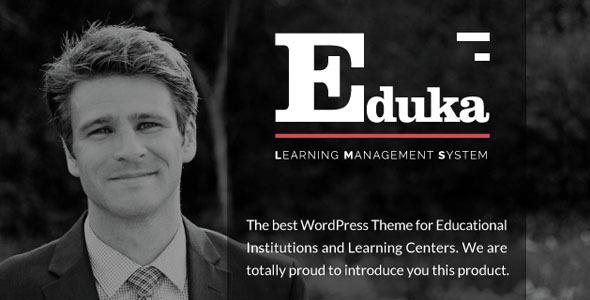Eduka 教育培训 WordPress主题