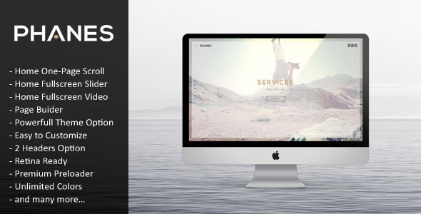Phanes 多用途 WordPress主题 v1.0