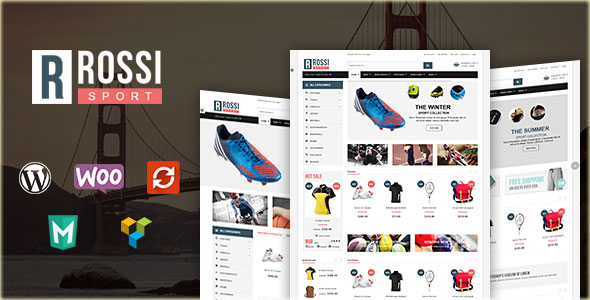 VG Rossi WooCommerce购物商城 WordPress主题 v1.4