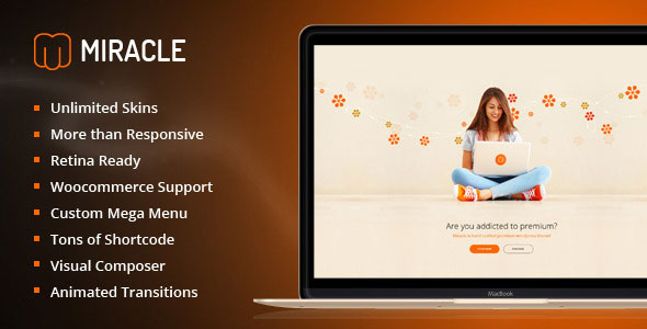 Miracle 多用途 WordPress主题 v1.2.2