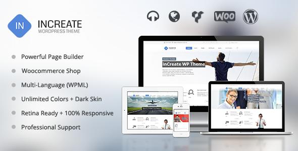 inCreate 自适应多用途 WordPress主题 v1.1.7
