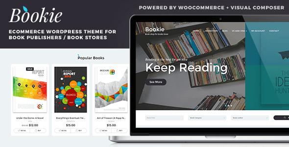 Bookie 书店 wordpress主题 – v1.4.2