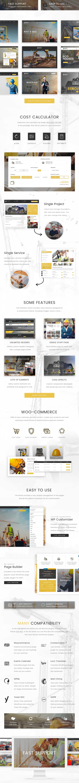 Edile – 建筑工程企业网站模板WordPress主题 – v1.3