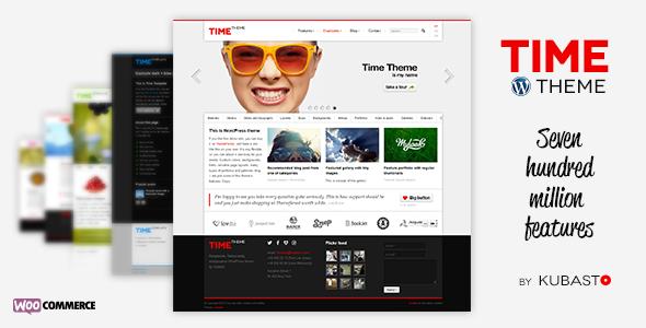 Time 响应式企业 WordPress主题 v4.0