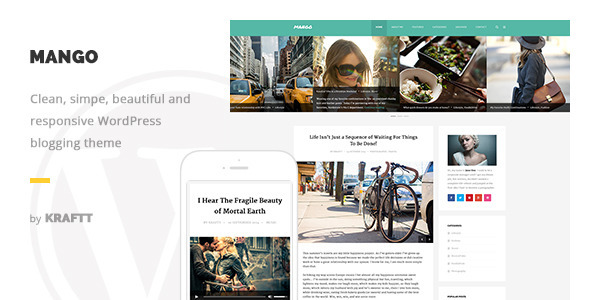 Mango 博客 WordPress主题 v1.0.3