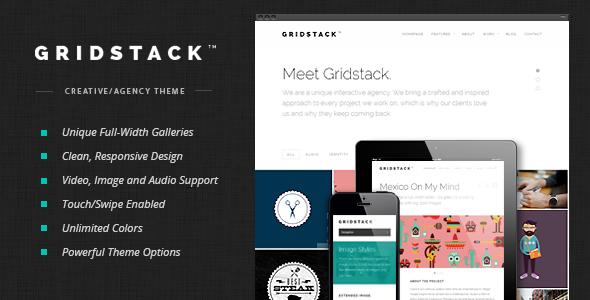 GridStack 企划创意机构 WordPress主题 v1.3