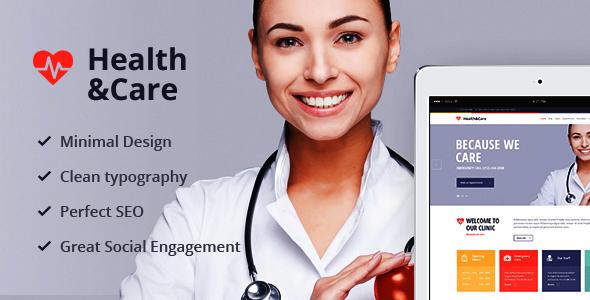 Health & Care 医疗健康 WordPress主题 – v1.8.2
