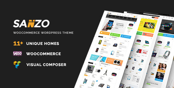 Sanzo 响应式购物商城WordPress主题 – v1.2.2-WordPress主题推荐