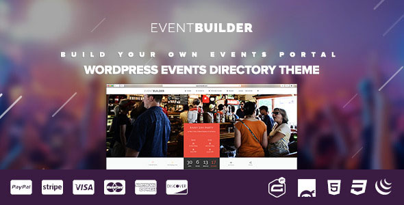 EventBuilder 活动会议演出 WordPress主题 v1.0.8