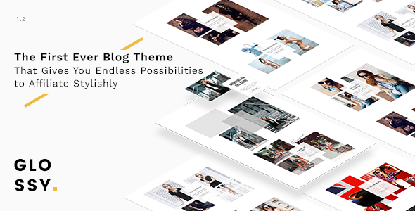 Glossy v1.1.0 – 时尚博客WordPress主题-WordPress主题推荐