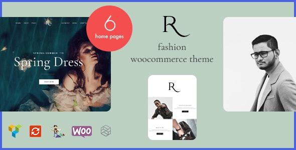Rion – 时尚服饰商店模板WordPress主题 – v1.0.5