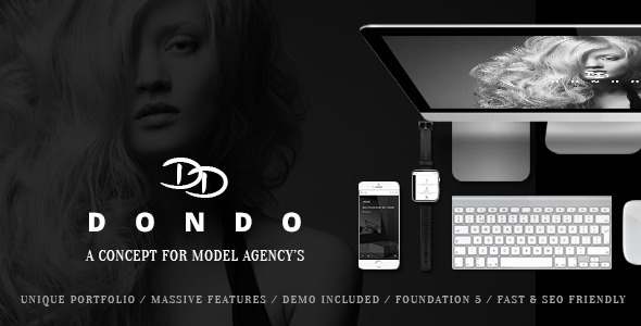 DONDO 模特演艺机构 WordPress主题 v1.7.4
