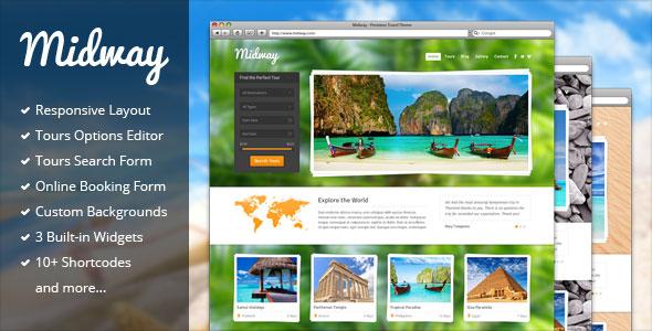 Midway 旅游 WordPress主题 v3.13