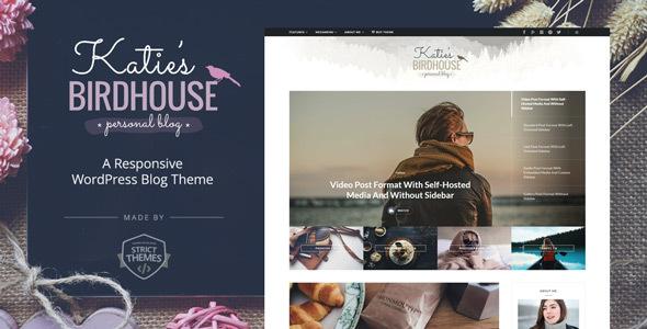 BirdHouse v1.0.4 – 响应式博客WordPress主题-WordPress主题推荐