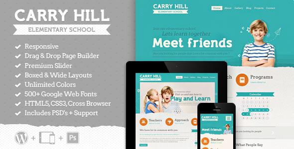 Carry Hill School WordPress主题 v2.1.1
