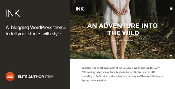 Ink 博客 WordPress主题 v2.0.2