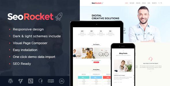 Seo Rocket SEO营销推广WordPress主题 – v1.3