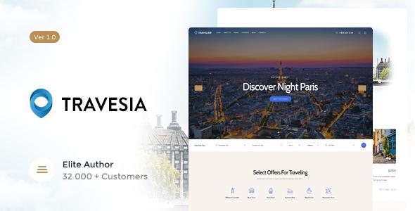 Travesia – 旅行社WordPress主题 – v1.1.5
