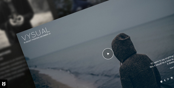 VYSUAL 电影 WordPress主题 v1.0.1