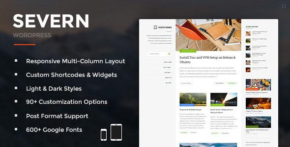 Severn 博客杂志WordPress主题 v4.2.2