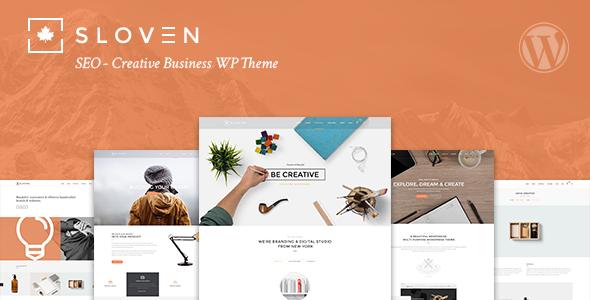 Sloven SEO 创意商务 WordPress主题 v1.5