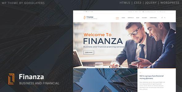 Finanza 商务 WordPress主题 v1.0.3
