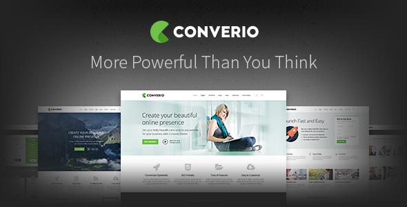 Converio 多用途 WordPress WooCommerce主题 v1.0.13